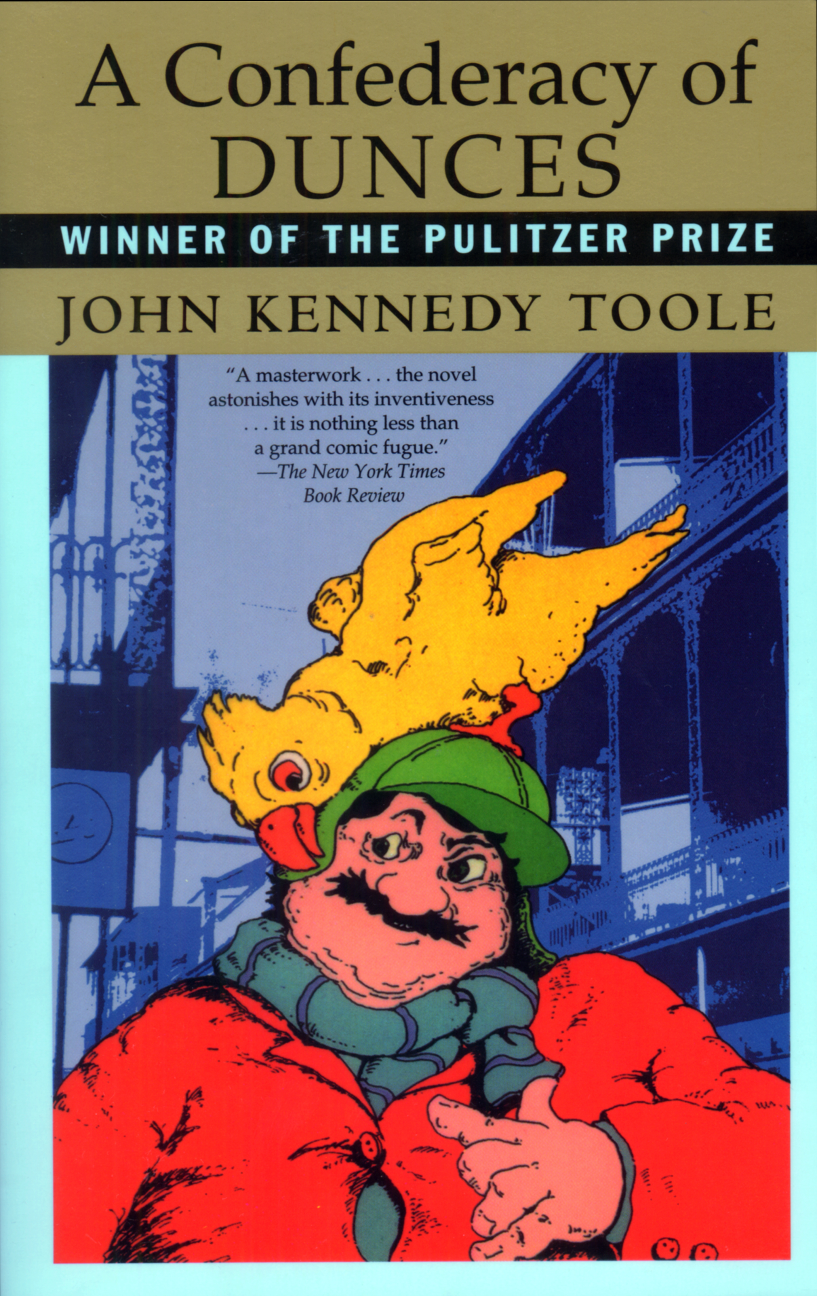 A confederacy of dunces by john kennedy toole (book analysis.