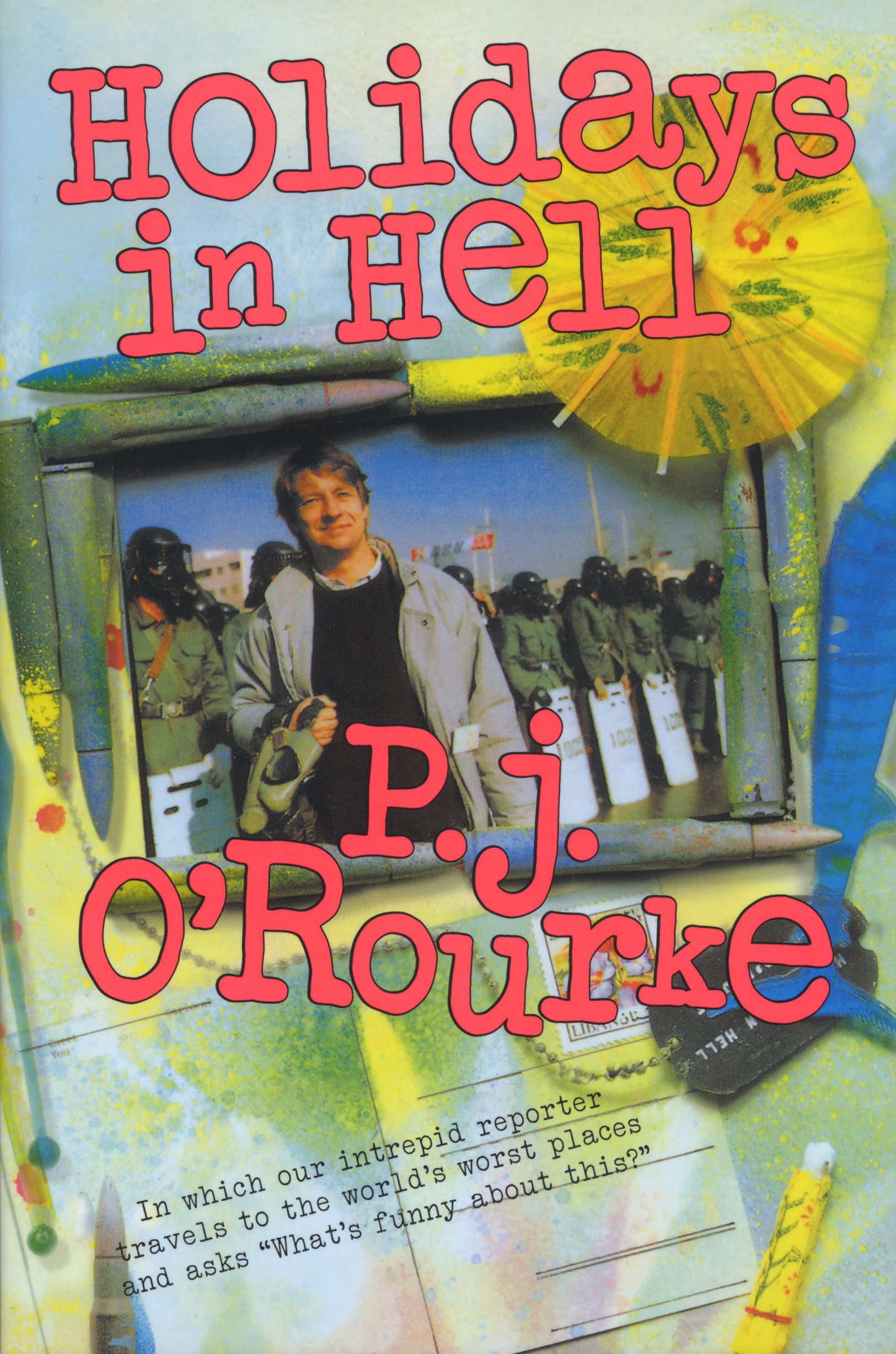 Image result for holidays in hell book cover