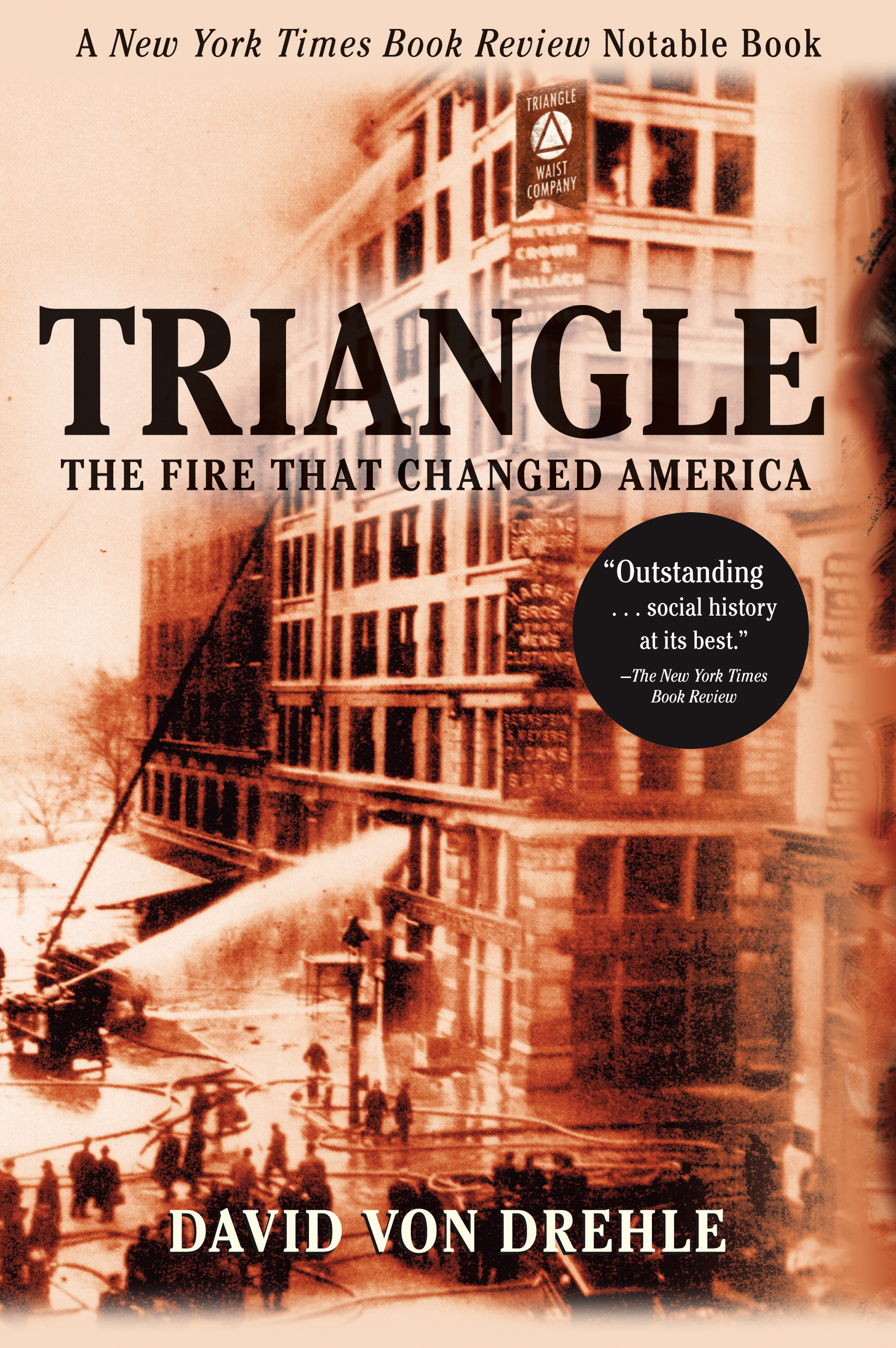 account of the triangle shirtwaist factory fire in new york